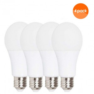 Emergency LED Light Bulb with Rechargeable Battery Back-up 9W  (Lasts up to 3-4 Hours) - (E27- screw in) 4 Pack