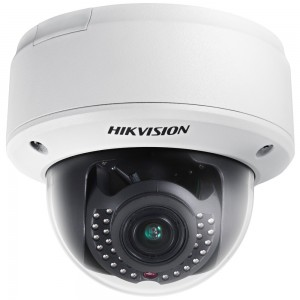 Hikvision 1.3MP Indoor Motorized VF Lens IR 30M Network Dome Camera