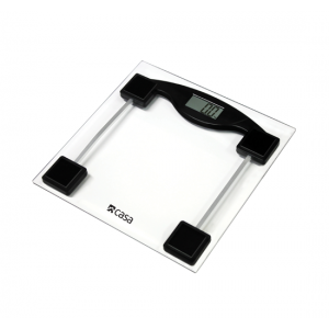 CASA ELECTRONIC GLASS BATHROOM SCALE - CEGS01