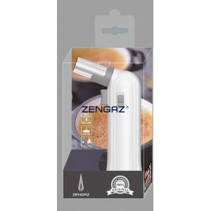 Zenga ZT-88 Penguin Torch Jet Lighter - White
