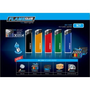 Africa Flame Nano Piezo - Unique  Fully Automatic Electronic Lighter  25's