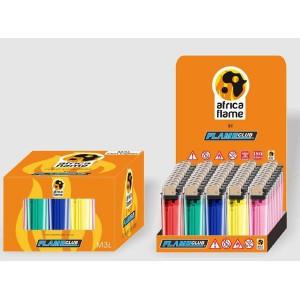 Africa Flame Flint M3L Disposable Lighters - 50 pcs