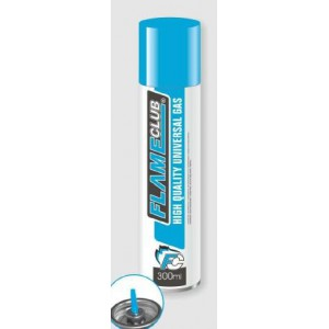 Flame Club Gas Refill 300ml Cans - 12'S