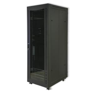 RCT 12U Server Cabinet  600x800 Glands + Screws Perforated AP6812.PER.B