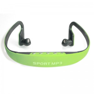 Sport MP3 Wireless Headphone Music Player with TF/Micro SD Card Slot