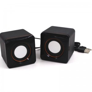 TUFF-LUV X1 USB Powered Mini Compact Stereo Speakers with 3.5mm Audio Input