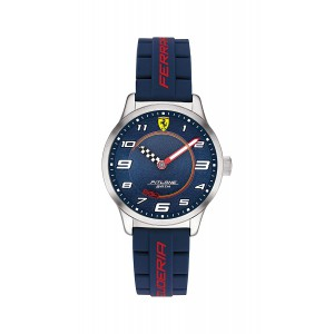 Ferrari Pitlane Analog Blue Dial Kids Watch