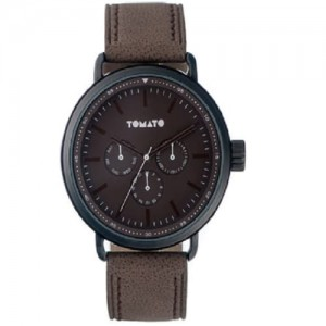 Tomato Gents Brown Dial Analogue Watch