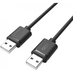 UNITEK USB2.0 MALE-MALE CABLE 1.5M BLA (Y-C442GBK)