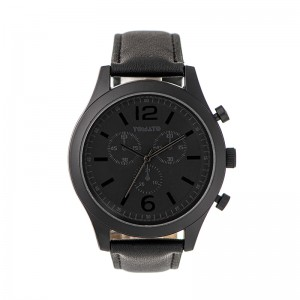 Tomato Gents Black Dial & Case 46mm