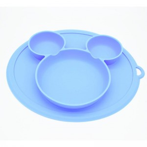 Silicone Plate for Baby