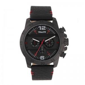 Tomato Gents Gun Dial 45mm Black Case Watch