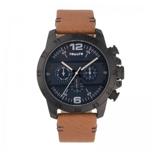 Tomato Gents Navy Dial 45mm Black Case Watch