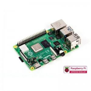 Raspberry Pi 4 Model B  Quad-core Cortex-A72 (ARM v8) 64-bit SoC @ 1.5GHz Processor - 1GB LPDDR4