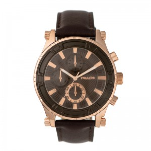 Tomato Gents Brown Dial 45mm Rosegold Case Watch