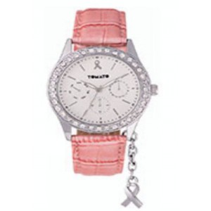 Tomato Ladies 'Bca' Charm Ip Sil Case Watch