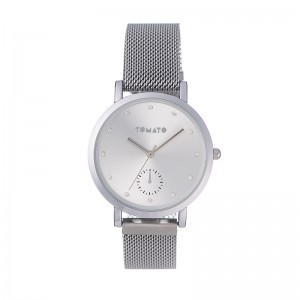 Tomato Ladies Silver Dial& Case 36mm Watch