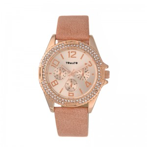 Tomato Ladies Rosegold Dial,Iprg Case, 40mm, Coral Band S19 Watch