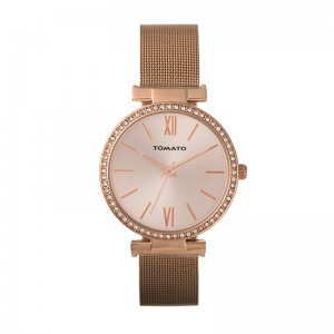 Tomato Ladies Rose Dial, Rosegold Case 38mm Watch