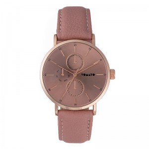 Tomato Ladies Pink/Rose Gold Dial Watch & 40mm Iprg Case