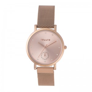 Tomato Ladies Rose Gold Dial Watch & 36mm Case