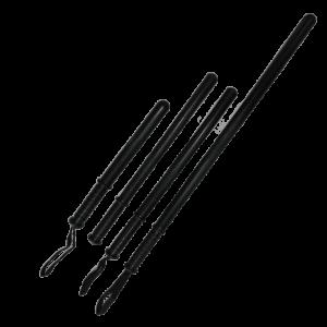Straight Riot Baton 70cm (With strap)