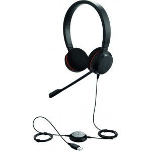 Jabra EVOLVE 20 MS Duo USB Headset