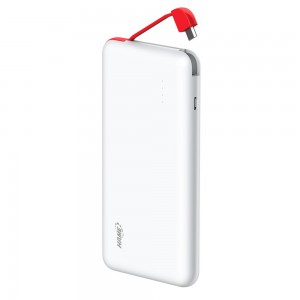 Hame 5000mAh Portable USB Charger Power Bank (Thin, Polymer Battery)