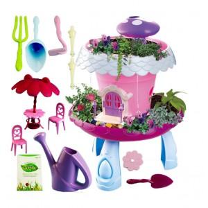 Jeronimo DIY Garden House Play Set -Pink with li