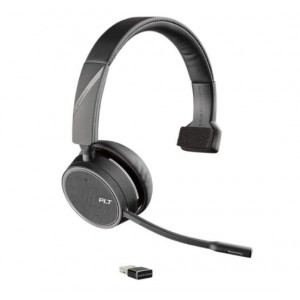 B4210S-UC - Voyager 4210 - Monaural Bluetooth Headset with USB Dongle Incl Stand