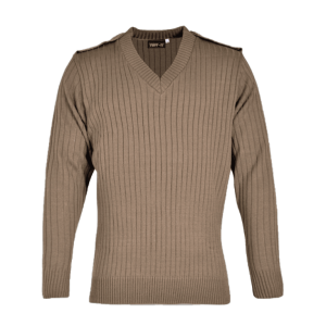L/S Combat Jersey with Epaulettes & Elbow Patches - Cedar Green, Black, Grey, Navy, Khaki S - L