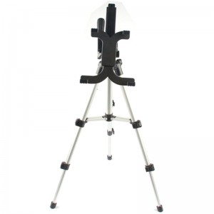 TUFF-LUV 1 Meter Tripod Stand  for 7-13 inch tablet - Silver