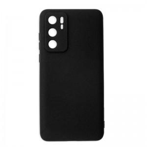Huawei P40 Silicone Case - Black