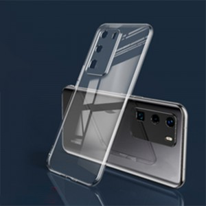 Huawei P40 Ultra Thin Silicone Case - Transparent / Clear