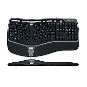Microsoft Natural Ergonomic Keyboard - Standard Profile -  Retail Pack