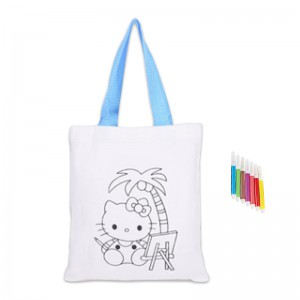 Kids Colouring Bag with a Set of Colouring Pencils
