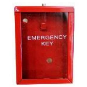 Emergency Key Box - Red