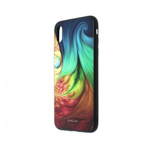 Tellur Cover Glass print for iPhone XS MAX Mesmeric