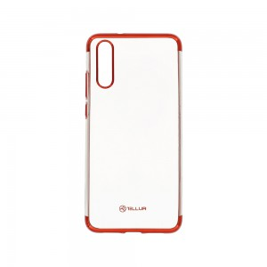 Tellur Cover Silicon Electroplated Huawei P20 - Red