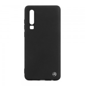 Tellur Cover Matte Silicone for Huawei P30 Black