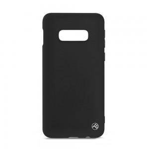 Tellur Cover Matte Silicone for Samsung Galaxy S10e Black
