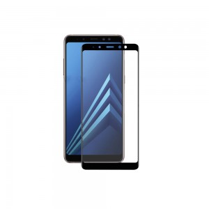 Tellur Tempered Glass 3D for Samsung A8+ (2018) Black