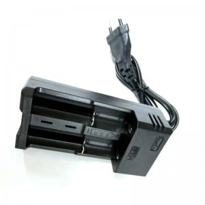 Dual Battery Charger 18650/ 26650 Li-ion Battery Charger