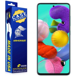 ArmorSuit MilitaryShield-Samsung Galaxy A51 Screen Protector FULL EDGE coverage - Case Friendly (Anti-Bubble & Extreme Clarity)