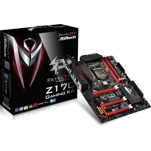 ASRock Z170 Gaming K6 LGA 1151 Intel Z170 HDMI SATA 6Gb/s USB 3.1 USB 3.0 ATX Intel Motherboard