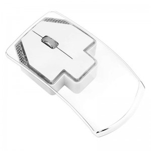 Wireless Transparent LED Mouse 2.4GhZ