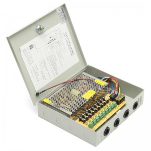 CCTV 9 Channel 10A PSU power supply – 120W
