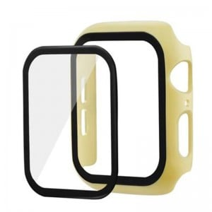 Apple Watch Bumper Case with Tempered Glass Screen Protector