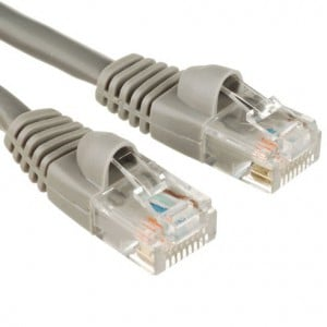RCT CAT5E 0.5m Grey Patch cord
