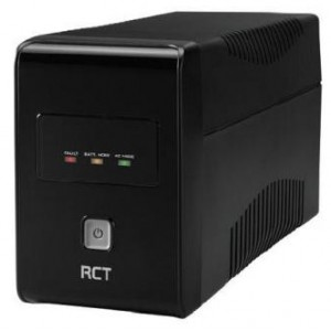 RCT 650VA Line Interactive UPS - 360 W, LED display
